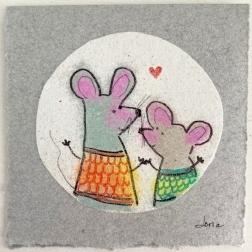 Les amies souris