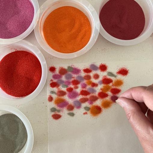 peinture de sable